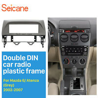 1DIN 2002-2007 Mazda 6 Atenza Car Radio Fascia Mounted Stereo Dashboard Panel
