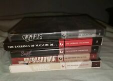 criterion collection blu ray lot