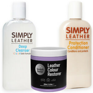 LILAC Leather Cleaner, Conditioner & Restorer for Sofa, Bags, Shoes, Jackets etc