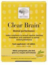 New Nordic claro cerebro 60 comprimidos
