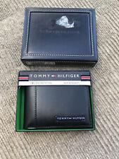 Tommy Hilfiger Men's Leather Wallet Bi-Fold RFID Protection