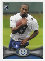 2012 TOPPS T.Y. HILTON ROOKIE RC #14 INDIANAPOLIS COLTS GOLDEN PANTHERS