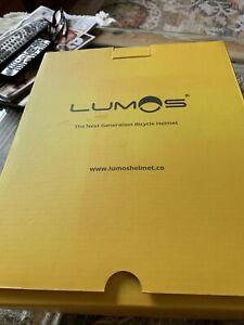 Lumos Kickstart Smart Bike Helmet W/ LED Lights Adult 54-62cm Grey Bluetooth