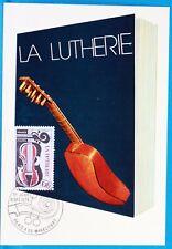 LA LUTHERIE    FRANCE  CPA Carte Postale Maximum  Yt 2072 C