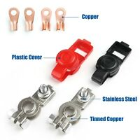 Battery Terminal Heavy Duty Car Vehicle Quick Connector Cable Clamp Clip, Pack 6
