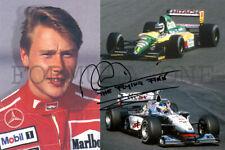 Mika Häkkinen 1991 - 2001 Formula One GP winner + champion (DRUCK * PRINT)