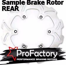 Pro FACTORY BRAKING freno Trasero Rotor Disc Yamaha Yz125 Yz250 88-97 WR250