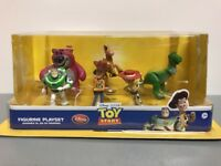 Disney Store - Toy Story - 6 Piece Figurine Set - Great Playset/Cake Toppers-NEW