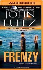 John Lutz FRENZY Unabridged MP3-CD 12 Hours *NEW* FAST 1st Class Ship