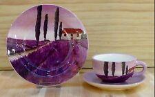 Teetasse Unterteller Lavendel Jameson & Tailor Keramik Tee Tasse 5176