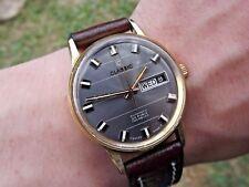 Vintage *Classic* Automatic Day-Date ETA 2789 Watch c.1970s