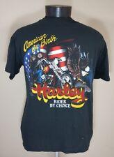 VTG 80s Harley Davidson T Shirt Bikers Only 50/50 Tee Trucker Hog 70's