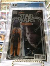 Darth Vader #1 ~ CGC 9.8 ~ Anakin Skywalker Action Figure Variant ~JTC Exclusive