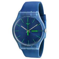 Swatch Blue Rebel Blue Dial Men's Watch SUON700
