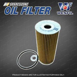 Wesfil Oil Filter for Kia Stinger CK 3.3 V6 24V Petrol 07/2017-On