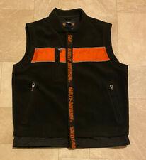 Harley Davidson Fleece Vest Sz L