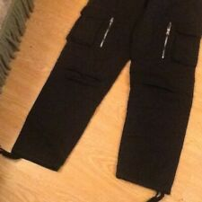 Da Uomo Pierre Cardin Cargo Esercito Combattimento Lavoro Pantaloni Pantaloni Con Cintura 100/% COTONE