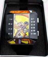 Romero Britto reloj binario binario tipo reloj TheOne había limitada edición Mensing Popart.