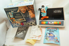 VINTAGE MICKEY MOUSE TALK BACK TALKING COMPUTER BATTERY OPERATED TOY 1981 BOX d