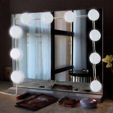 Vanity 10 LED Luci Lampadine per specchi da trucco in stile Hollywood Specchio