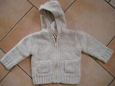(x142) Imps & Elfs Unisex Baby Maglia Giacca Foderato + Cappuccio Tasche & gr.68