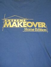 L blue EXTREME MAKEOVER HOME EDITION TV SHOW t-shirt unbranded