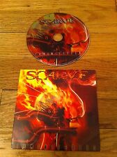 SCARVE LUMINIFEROUS CD Ultra Violent Death Metal Promo Extreme Crustscraper OOP