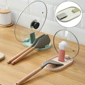 Kitchen Spatula Pot Lid Holder Multifunction Ladle Spoon Rest Holders Organizer