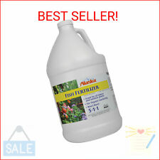 Alaska Fish Emulsion Fertilizer and Plant Food, 1 Gallon