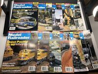 Lot of 11 Model Railroader Magazines from 2000