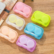 F1: 4tlg. Reise Reinigung Set Kontaktlinsen Kontaktlinsenbehälter Box Behälter