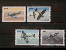 NEVIS '1986 * MH 361/364 YT 11,00 EUR AVIONS,AVIATION,SPITFIRE,WORLD WAR II