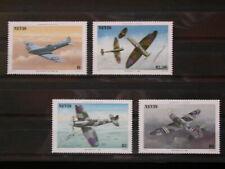 NEVIS '1986 * MH 361/364 YT 11,00 EUR TRANSPORT,AVIATION,SPITFIRE,WORLD WAR II