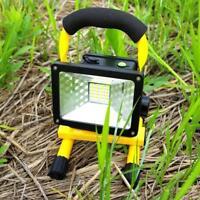 30W 24 LED Notfall Flutlicht Scheinwerfer Strahler Lampe Akku wasserdicht IP65