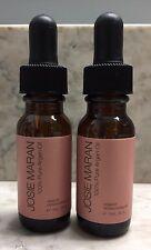 2 X Josie Maran 100% Pure Argan Oil To Go Travel Size .5 oz Organic SHIPS FREE