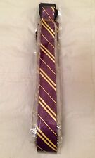 Unisex Griffindor Harry Potter Hogwarts Cravatta Stile Costume HP giorno Magic Tie