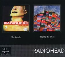 """RADIOHEAD """"2CD ORIGINALS: THE BENDS/HAIL TO THE THIEF"""" 2 CD NEUF"""