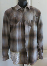 Taurus The People Of The Labyrinths Flannel Long Sleeve Holland Shirt Size Med