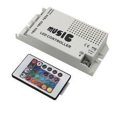 Music Sound Sensor Controller  For RGB 3528 5050 Led Strip Light