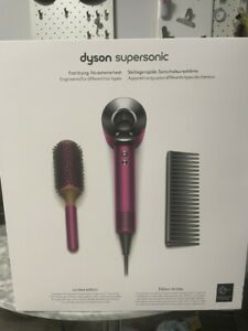 Dyson Supersonic Hair Dryer Limited Edition Gift Set - Fuchsia/Nickel