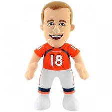 NFL PEYTON MANNING Bleacher Creatures 10 inch Plush Doll Denver Broncos Football