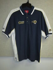 St. Louis Rams Large Embroidered Golf Shirt by VF Imagewear