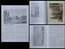 CONSTRUCTION MODERNE n°44 1924 MONUMENT MORTS ECOLE BEAUX-ARTS PARIS