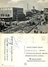 Cartolina di Bari, Fiera del Levante (macchine da caffè Gaggia) - 1952
