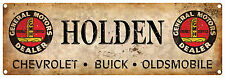 GENERAL MOTORS DEALER  GMH  HOLDEN DEALER  Vintage Tin Sign 60 x 20 cm