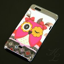 Sony Xperia Miro ST23i Hard Case Handy Schutz Hülle Cover Etui Blink Eule Owl