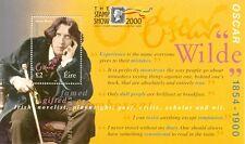 Ireland Oscar Wilde Min sheet LONDON OPT STAMP SHOW- mnh(2000)
