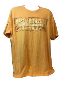 RARE BIG LOGO Margaritaville Mens XXXL SLENDER Graphic Short Sleeve T-Shirt EUC