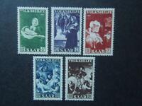 G1815   GERMANY  - SAAR    1951   PEOPLES  HELP/PAINTINGS  MI  309-12  MNH