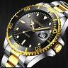 Fashion Men Military Sport Watch Stainless Steel Date Quartz Analog Wrist Watch